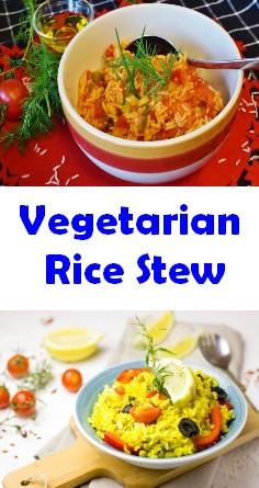 Vegetarian Rice Stew