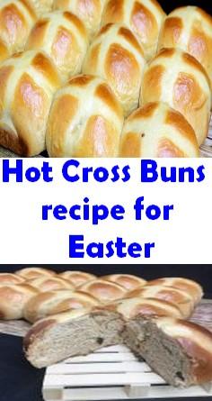 Hot Cross Buns recipe for Easter