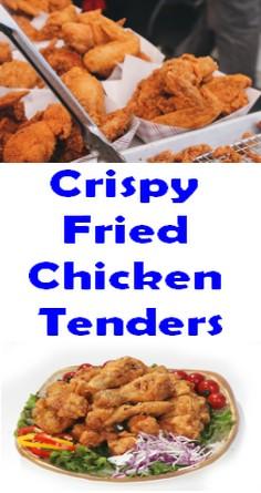 Crispy Fried Chicken Tenders
