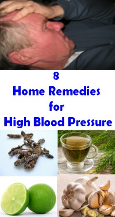 8 Home Remedies for High Blood Pressure